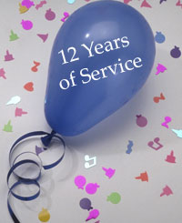 12 Years of Service